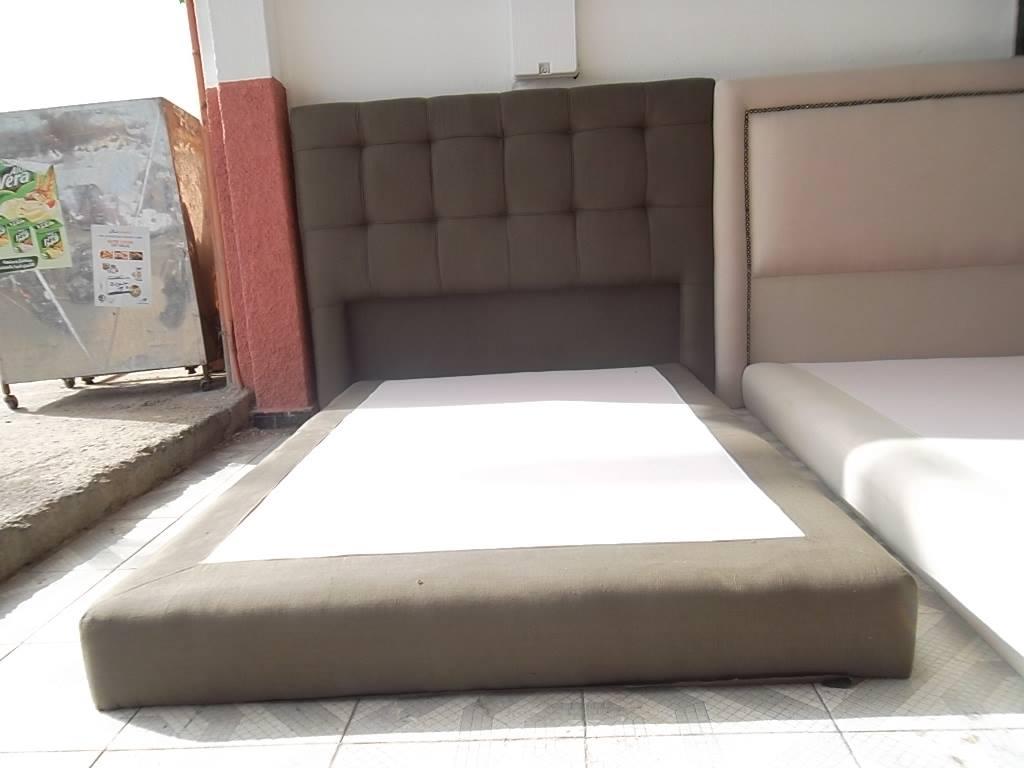 Chambe coucher ameublement marrakech maison et interieur for Lit moderne 2017