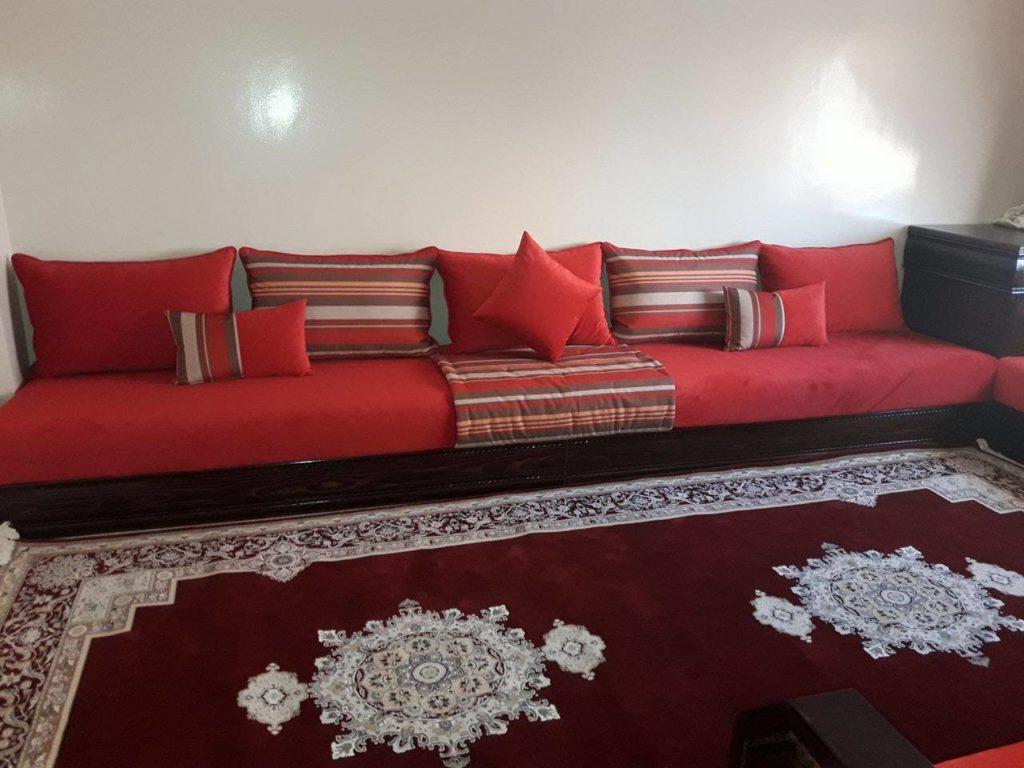 Salon Marocain Rouge - Artantis