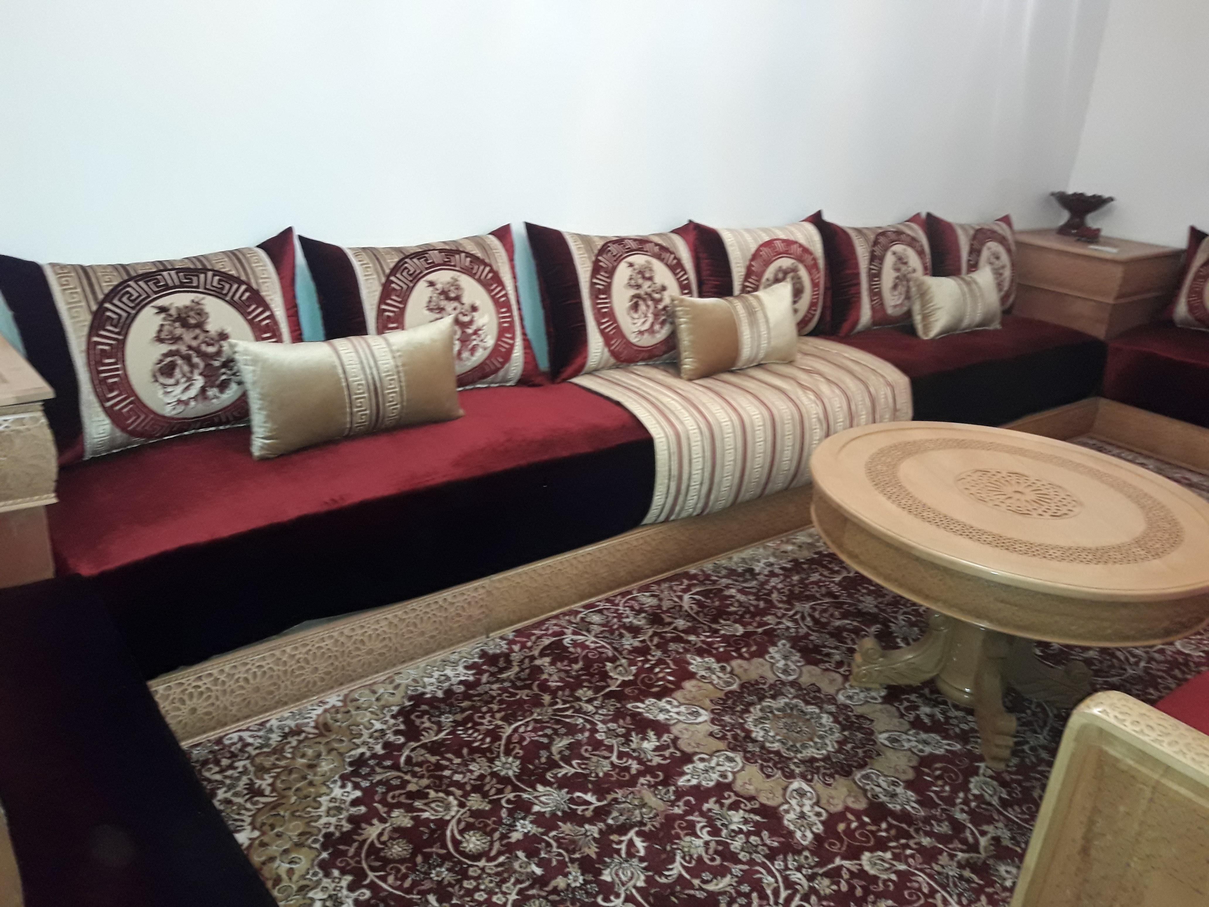 Salon marocain - Ameublement Marrakech - Maison et Interieur