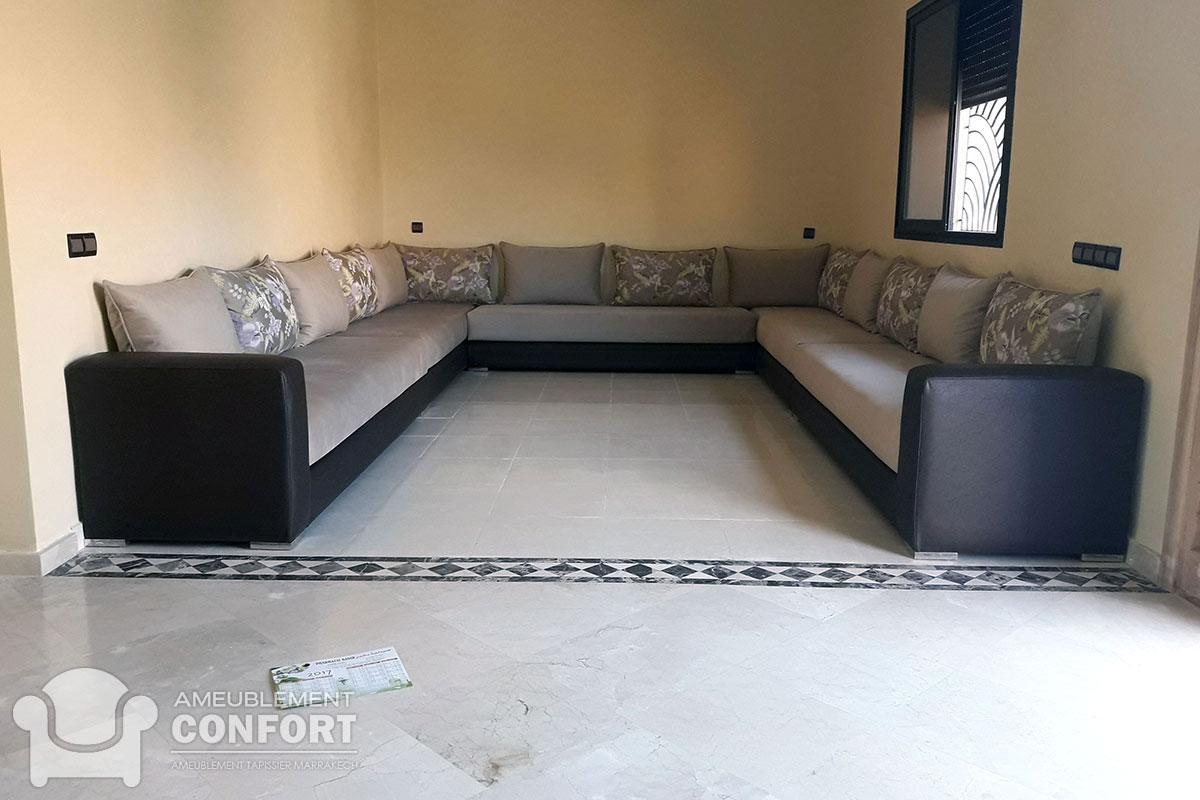 Salon Beldi Marocain : Salon marocain ameublement marrakech maison et interieur