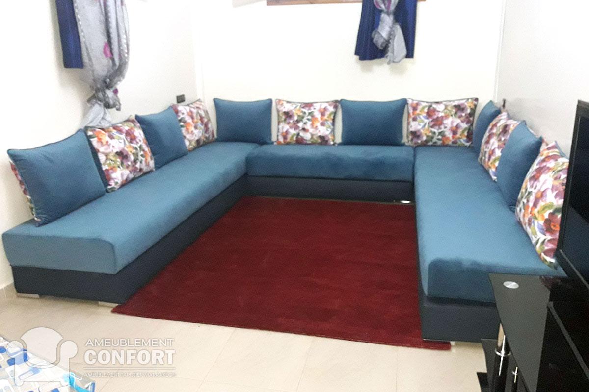 Salon Moderne - Ameublement Marrakech - Maison et Interieur