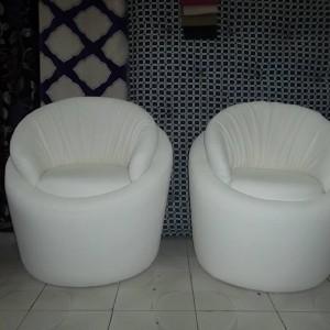 Chaises En tapissier Blanches